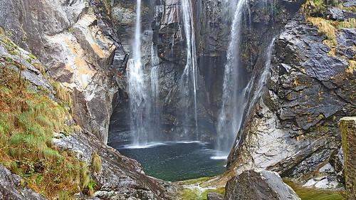 der Wasserfall von Maggia