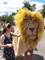 Aslan at the Billingshurst Show