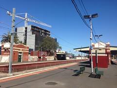 New developments next to Essendon Station