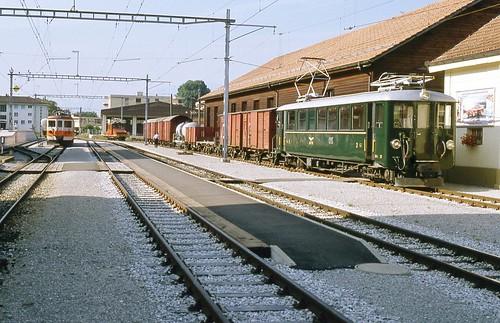Trains des G.F.M.  actuellement T.P.F.  (Suisse)
