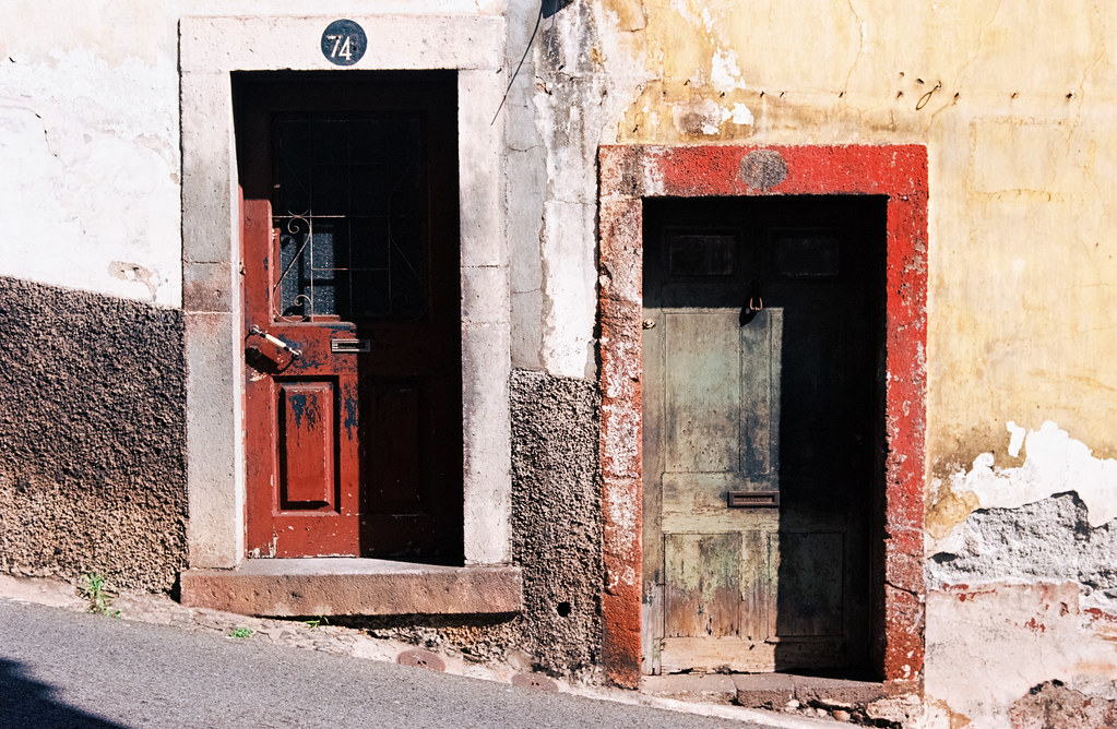 Madeira doors