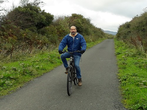 Biking the Waterford greenway