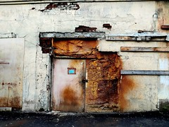door. decay