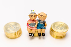 Senior Couple invests in their future sitting on cash reserves