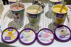 Made with Luve Veganer Joghurt verschiedene Sorten Mango, Kirsche, Stracciatella und Kokos-Ananas