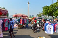 Small market outside Monas