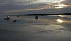 Autumn Sunset, Orford Quay