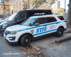 NYPD Police Emergency Service Unit Vehicle, Kingsbridge, Bronx, New York City
