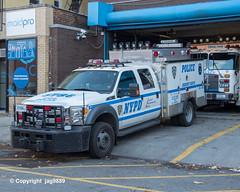 NYPD Police Emergency Service Squad Vehicle, Kingsbridge, Bronx, New York City