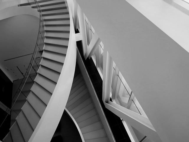 Escalier muséal