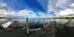 Gorgeous Tampa Bay Florida Blues At Little Harbor In Spherical Panorama - IMRAN™