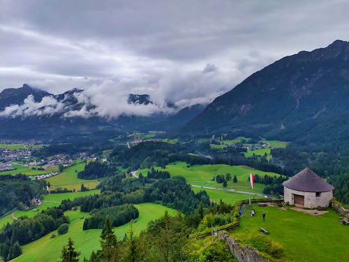 View from Castle Ruin Ehrenberg (Reutte)