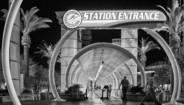 Las Vegas,Monorail Station