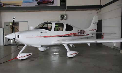 Cirrus SR20 G-IENN Seppe 09/08/19