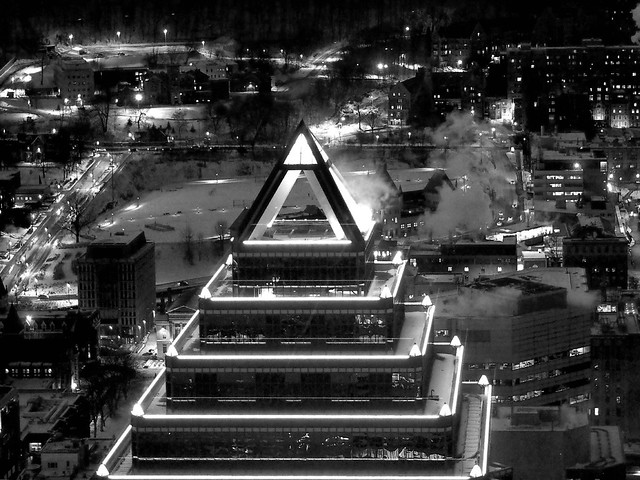 Pyramidion de la tour McGill