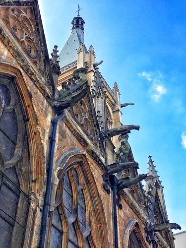Paris France ~ Saint-Séverin ~ Historic Church Downtown