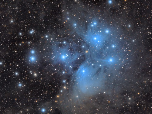 M45 Pleiades LRGB