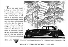 1937 Alvis 4.3 Litre Sports Saloon