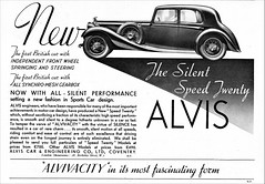 1935 Alvis Speed Twenty Sports Saloon