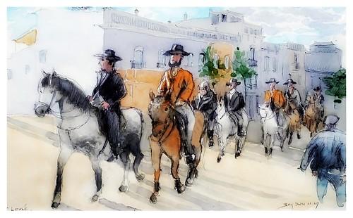 Loulé - Algarve - Portugal - défilé