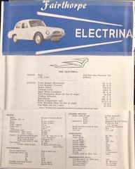 Fairthorpe Electrina (1963)