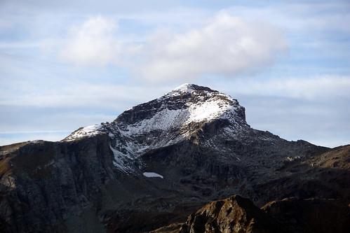 Guriner Furggu view of Monte Giove