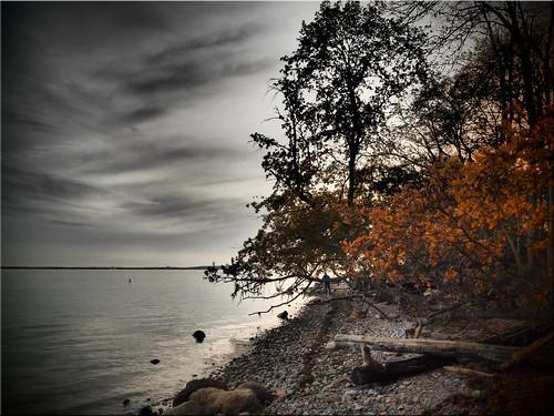 Autumn on the Baltic Sea coast