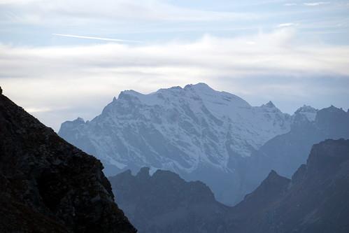 Guriner Furggu view of Helsenhorn