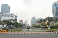 View towards South Jakarta