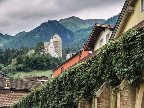 View to Freundsberg Castle, Schwaz