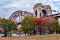 Astoria Park New York Fall Foliage
