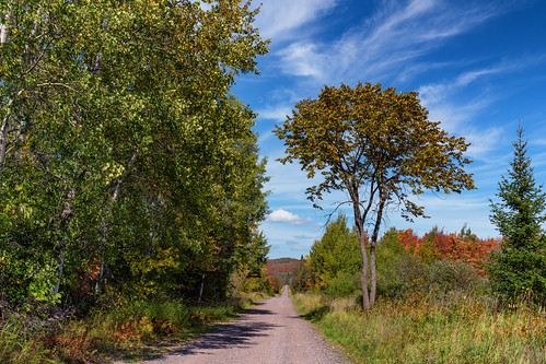 Upson Lake Road - Autumn in Northern Wisconsin