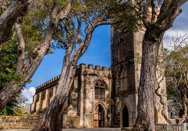 La vieille église des Barbades