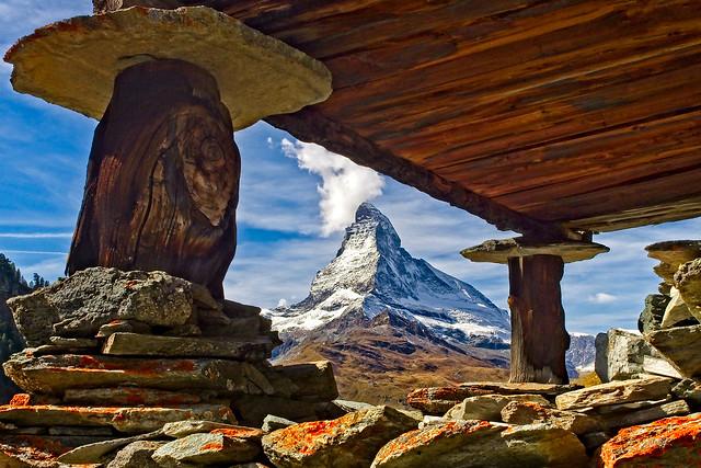 Le Matterhorn à l'âge de pierre