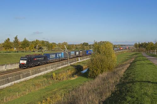 SBB Cargo 189 102, Echteld (NL)