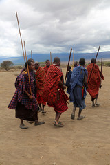 Masaai village, Ngorongoro Conservation Area, Tanzania