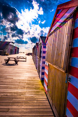 The colours of Hastings Pier