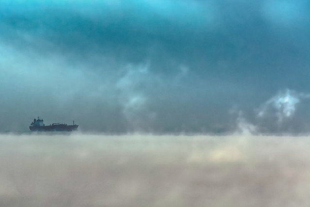 Matin glacial sur le Saint Laurent