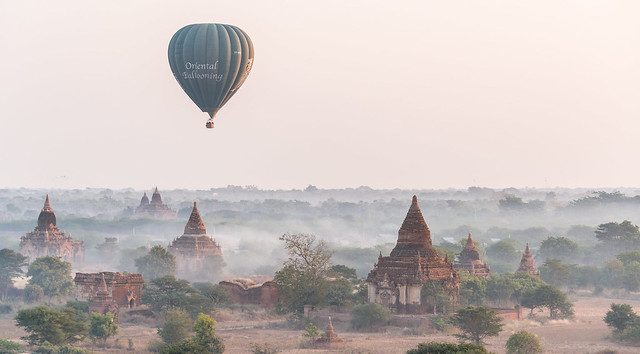 Bagan du haut des airs