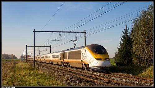 Eurostar 3214/3223 @ Enghien