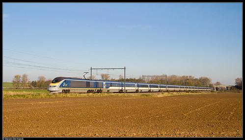 Eurostar 3229/3230 @ Enghien