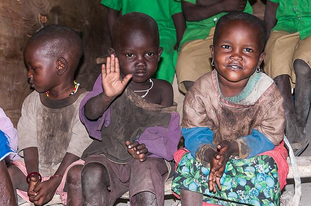 Écoliers Maasai
