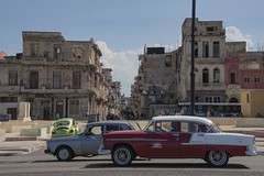A street in Centro Habana (Havana), Cuba, viewed from the Malecon, 03-16-2019 120