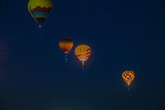 Dawn patrol balloons at Albuquraue Balloon Fiesta-03 10-8-19