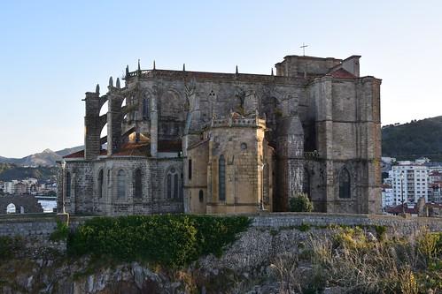 Iglesia de Santa María de la Asunción (Castro Urdiales, Cantabria, España, 29-9-2019)