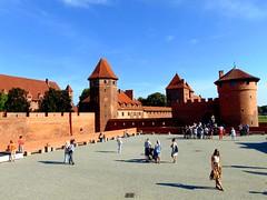 arhitectură gotică-castelul malbork/gothic architecture-malbork castle