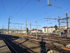 Annecy train station @ Morning @ Walk along the Arve river