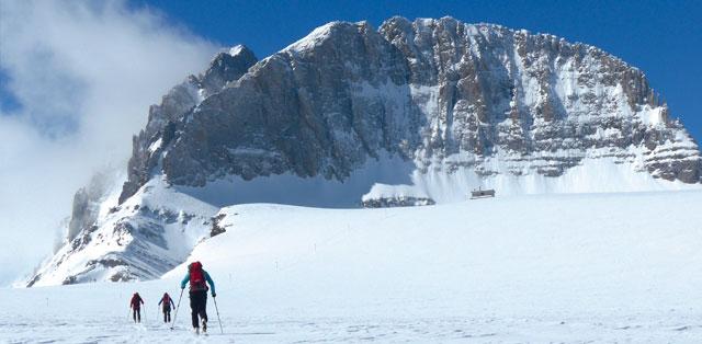 Skitour Aufstieg zumOlymp