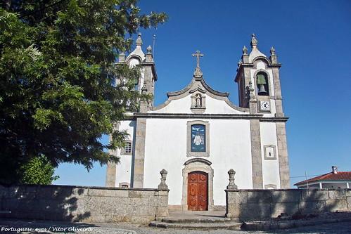 Igreja Matriz de São João de Areias - Portugal 🇵🇹