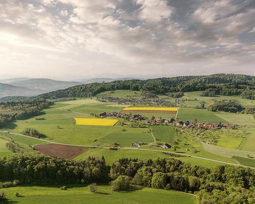Luftaufnahme Linn Bözberg im Aargau - Bözberg-Aargau-Schweiz-CH160507090537-©patrikwalde_com.jpg